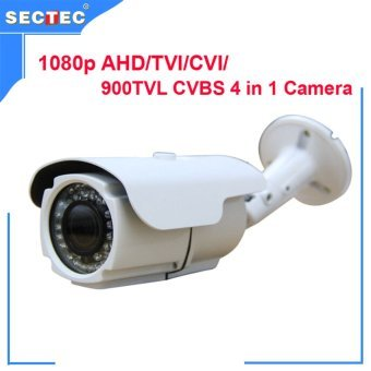 Harga 1080P AHD/TVI/CVI/ 900TVL CVB camera 4 in 1 with OSD, HD 3MP 2.8-12 mm manual zoom lens IP66 Waterproof IR Camera 1080P CCTV Cam