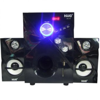 Harga Cai Music-215 3D Surround Sound Speaker (Black)