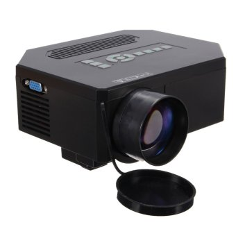 1200lumens HD 1080P Home Cinema 3D HDMI USB Video Game LED LCD Mini Projector Black Price Philippines