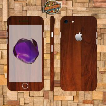 Harga Oddstickers wood 6 Phone Skin Cover for iPhone 7