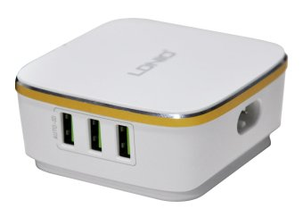 Harga LDNIO A6704 USB Travel Fast Charger