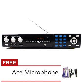 Ace MIDI-9912 All In One Karaoke/DVD Player with Free Ace-504 Microphone Price Philippines
