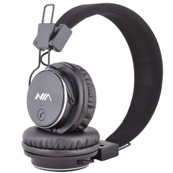 Nia Q8-851s 108dB Bluetooth Stereo Headset Wireless Stereo Headphones (Black) Price Philippines