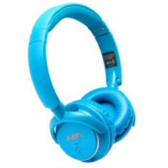 Nia Q1 Bluetooth Headsets with Micro SD and AUX Slot/FM Radio ( Blue) Price Philippines