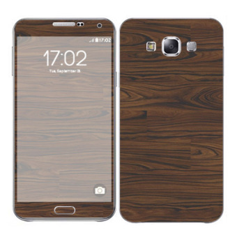 Harga Oddstickers Wood 5 Skin Cover for Samsung Galaxy E7