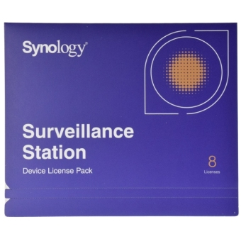 Synology IP Camera 8-License Pack Kit for Surveillance Station - All-Bays NAS Price Philippines
