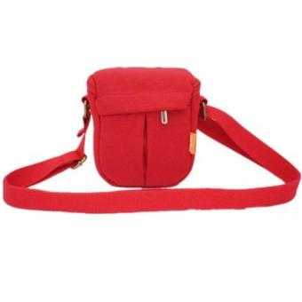 Red Camera Bag Case For Canon EOS-M M2 M3(Intl) - intl Price Philippines