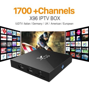 Harga Latest X96 Amlogic S905X Quad Core Android 6.0 IPTV TV BOX 2G/16G KODI 16.1 4K Smart Android Tv box PK M8s T95 Set Top Box X96 - intl