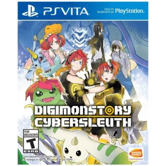GCE Digimon Story: Cyber Sleuth Game R3 for PS Vita Price Philippines