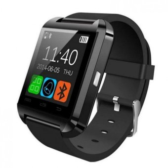 Harga Cai-99 Bluetooth Touchscreen Smart Watch (Black)