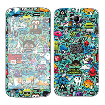 Harga Oddstickers Doing Good Skin Cover for Samsung Galaxy Mega 5.8