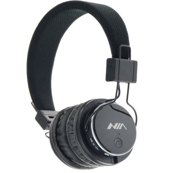 NIA Q8 108dB Collapsible Over-the-ear Bluetooth Stereo Headphone (Black) Price Philippines