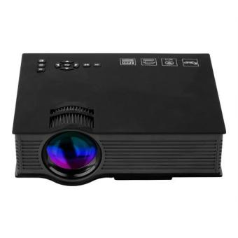 Harga UNIC UC46 Mini LED Projector 800 x 480 1200Lm EU PLUG (Black)