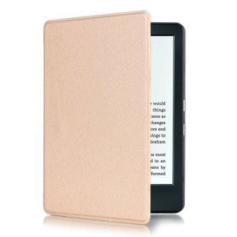 Harga Yika Thin PU Leather Cover for Amazon Kindle 8th 2016 (Champagne)