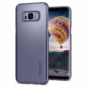 Harga SPIGEN Thin Fit Case for SAMSUNG Galaxy S8 (Orchid Gray)