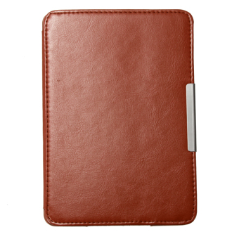 Harga Ultra Slim Smart Magnetic New Leather Case Cover for Amazon Kindle Paperwhite1 2 (Brown)