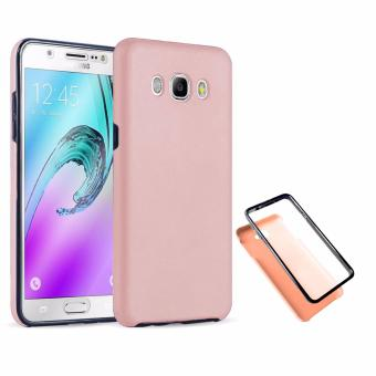 Full Cover 360 Shockproof Case for Samsung Galaxy J7 2015 - RoseGold Price Philippines