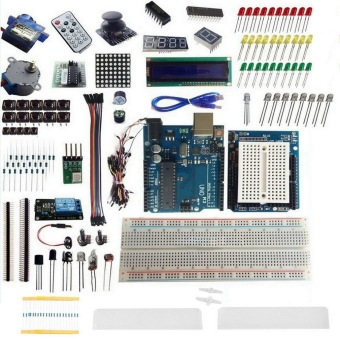 UNO R3 Starter Kit 1602 LCD Dot Matrix Breadboard LED Resistor for Arduino Price Philippines