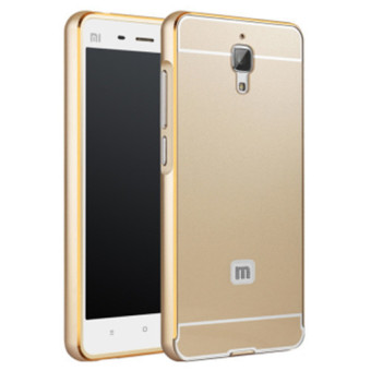 Alumium Metal Frame Case For Xiao Mi Mi 4 M4 M 4 (Color:Gold) Price Philippines