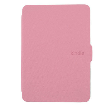 Harga GAKTAI Leather Smart Tablet PC Case for Amazon Kindle Paperwhite (Pink)