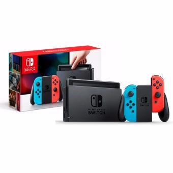 Harga Nintendo Switch with Neon Blue and Neon Red Joy-Con