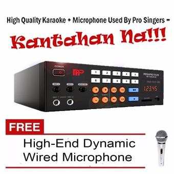 Harga Megapro Plus MP-7000JB NS 1TB HDD Karaoke Player Up to 30,000 Songs & MTV with Free High-End Wired Microphone
