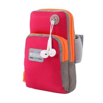 LALANG Universal Sports Armband Phone Bag Case Fitness Jogging Running Arm Band Bag Pouch S (Red) Price Philippines