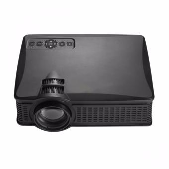 Harga 1500 Lumens LED Projector (Black)