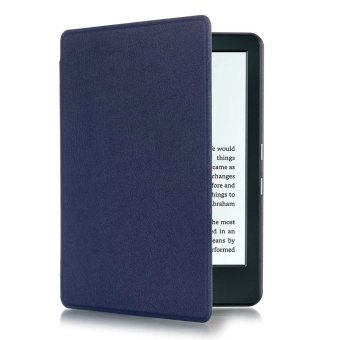 Harga GETEK Thin PU Leather Case Cover for Amazon Kindle 8th 2016 (Deep Blue)