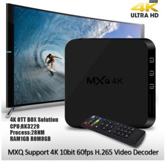 Harga MXQ-4k Android 5.1 Kitkat Ultra HD 8GB Quad Core Android Internet TV Box
