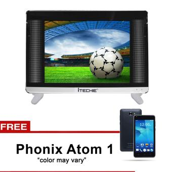 "Itechie 19"" Full HD LED TV LIN19 (Black) with FREE Phonix Mobile Atom 1 (Color May Vary)"""