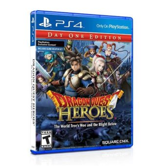 Dragon Quest Heroes: The World Tree's Woe and the Blight Below for PS4 Price Philippines