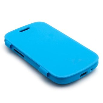 Harga Swisstech Lincoln Case for Samsung Galaxy S Duos/S7562 (Blue)