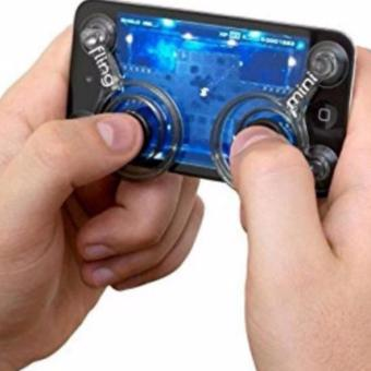 Fling mini Joystick Analog Controller for Android & iOS / Mobile Legends / Heroes Evolved (Black) Price Philippines
