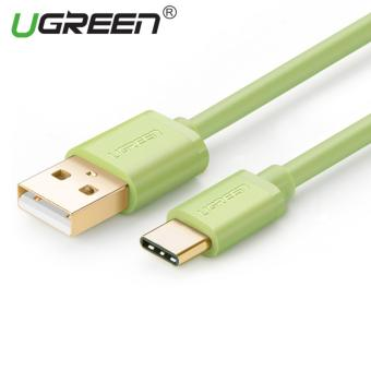 Harga UGREEN USB to Type C Data Sync Charger Cable (0.25m) Green - Intl