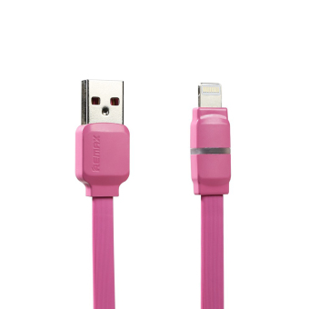 Harga Remax Breathe 1m Lightning USB Cable (Pink)