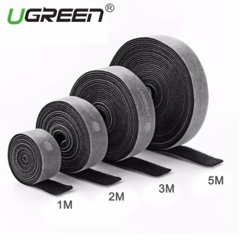 Harga UGREEN Loop Wraps Reusable Fastening Cable Ties Straps Strips for Cords Wire Management - 5M - intl