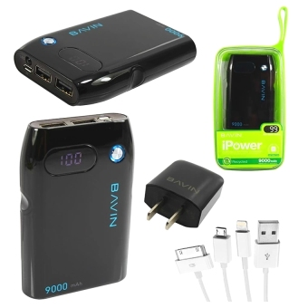 Bavin Y-PC257 iPower Power Bank with LED display (BLACK) Price Philippines
