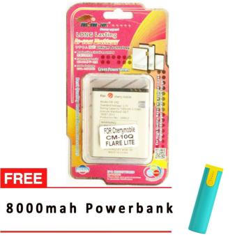 MSM HK Battery for Cherry Mobile CM-10Q FLARE LITE WITH 8,000 MAH POWERBANK Price Philippines