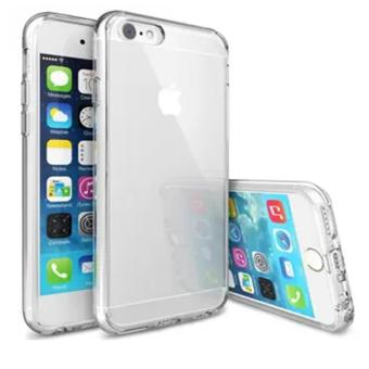 Apple iPhone 6/6S Ultra Thin Slim Clear Soft TPU Cover Case (Clear) - intl Price Philippines