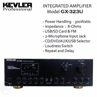 Kevler GX-323U Amplifier (Black) Price Philippines
