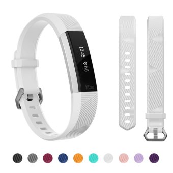 Hanlesi Fitbit Alta HR Band , Newest Universal Fitbit Alta HR / Fitbit Alta Band Replacement Sport Fitness Wristband Strap with Secure Metal Buckle for Fitbit Alta HR 2017 - intl Price Philippines