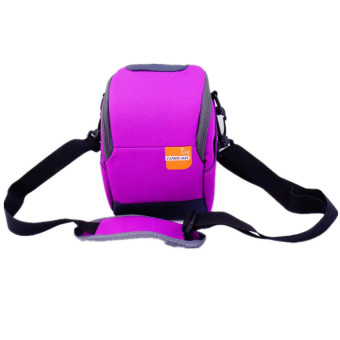 Soft Camera Bag Case Pouch for Nikon J1 J2 J3 J4 S1 J5 (Purple) - intl Price Philippines