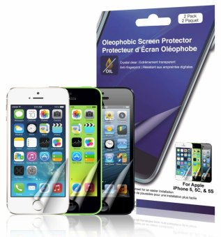 Harga Green Onions Supply iPhone SE/5S/5/ Crystal Oleophobic Screen Protector