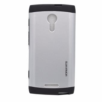 Slim Armor Case for Alcatel Flash 2 Silver Price Philippines
