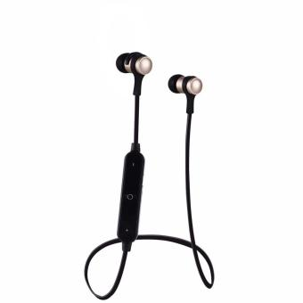 QF Bluetooth 4.1 Stereo Wireless In-Ear Sports Earphone With Microphone (BLACK) Price Philippines