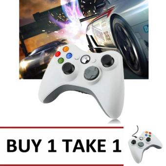 A-K Wired USB Game Controller Gamepad Joypad Resemble XBOX 360 For PC Computer #11B (WHITE) BUY 1 TAKE 1 Price Philippines