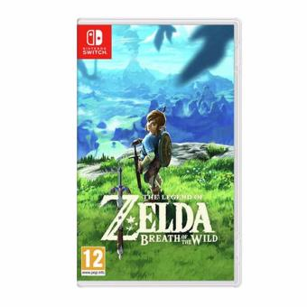 Harga The Legend of Zelda Breath of the Wild for Nintendo Switch