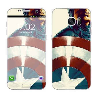 Harga Oddstickers Shield Phone Skin Cover for Samsung Galaxy S7 Edge