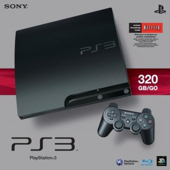 Sony Playstation 3 Slim 320 Gb Charcoal Black Console Price Philippines